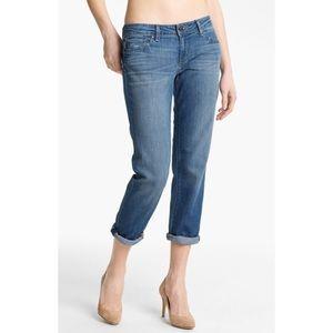 Like New Paige Denim James Crop Boyfriend Jeans
